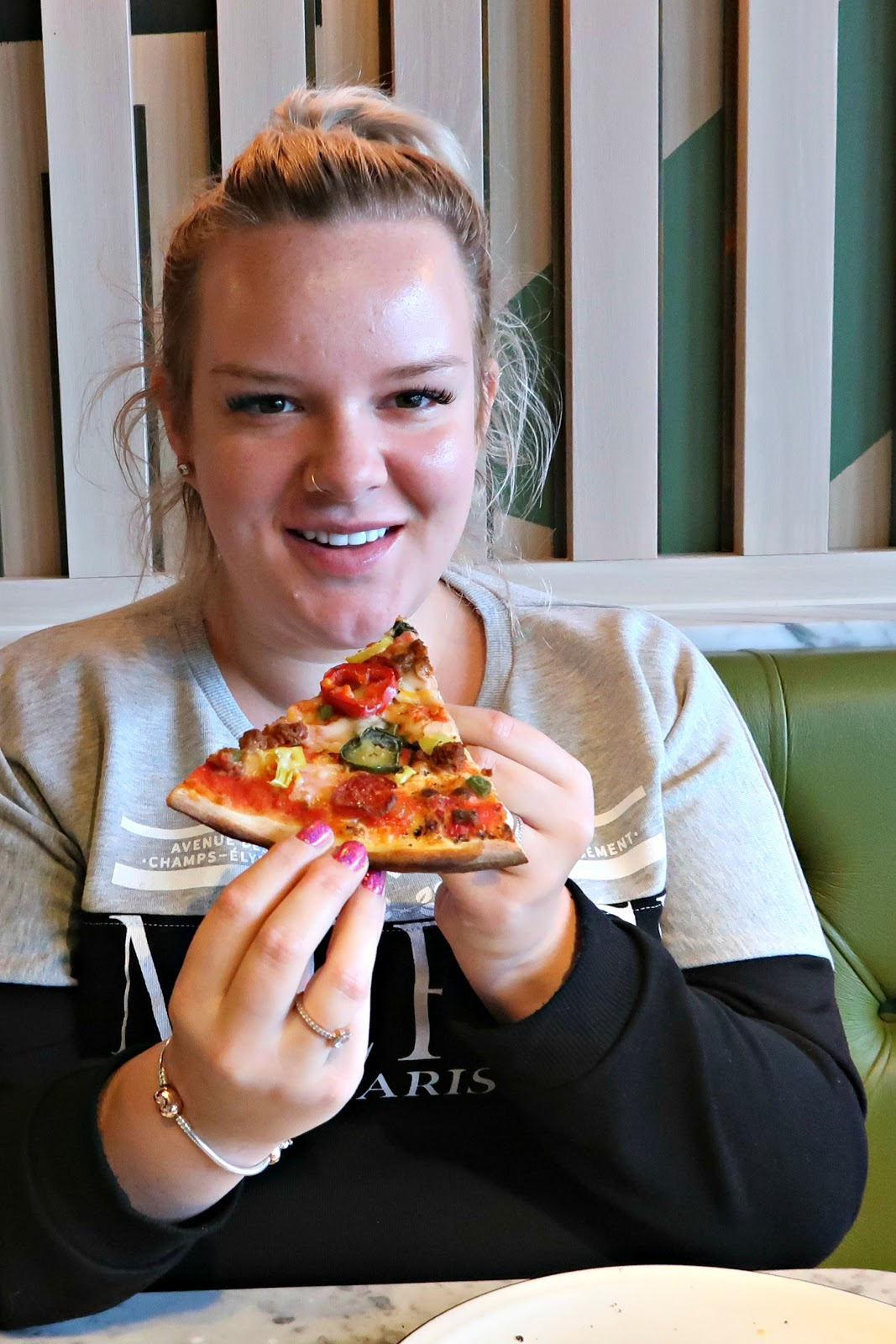 Dairy Free Express Lunch At Pizza Express Dalton Park