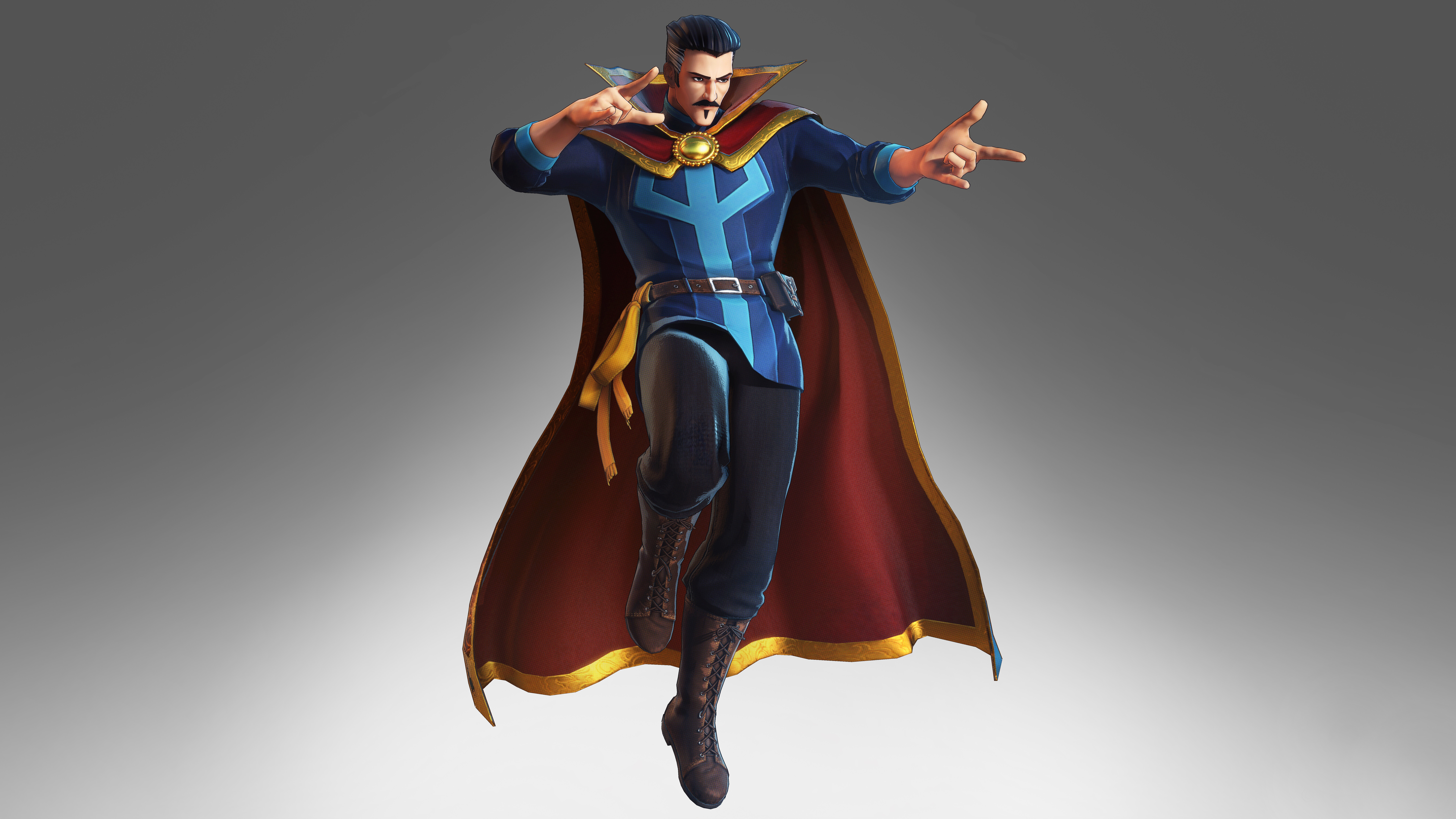 6. Ultimate Doctor Strange. The Ultimate Universe version of Strange is a powerful one. He is more powerful than his father Doctor Strange Sr. He is another gifted magician who is able to wield a variety of powers.
