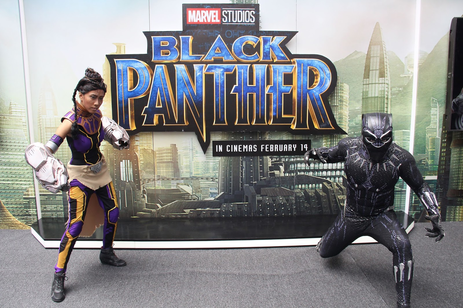 c63c5e715 To celebrate the theatrical release of Marvel Studios  Black Panther in  cinemas from February 14