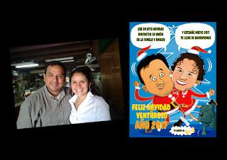 tarjetas caricatura navideña