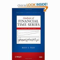 Analysis of financial time series 3rd edition