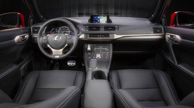 2018 Lexus CT 200h Specs