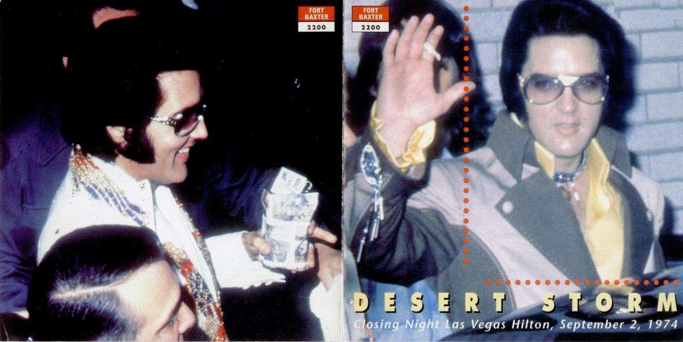 Unholy Reliquary Elvis Presley 1974 09 02 Desert Storm