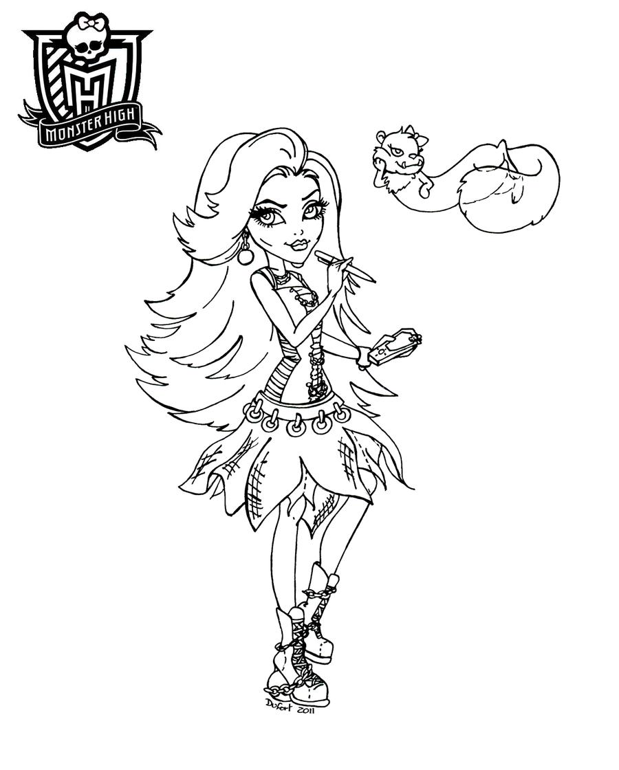 Juegos De Monster High Para Vestir E Imprimir