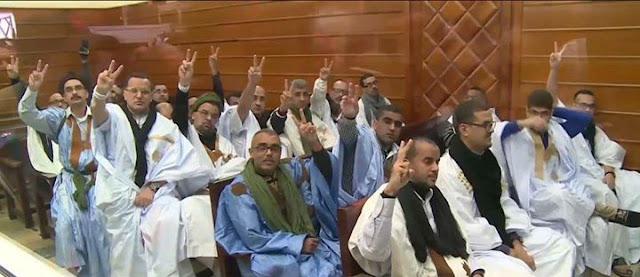 تفتيش مهين وإستفزازي في حق معتقل سياسي صحراوي من مجموعة أگديم إزيك و أخرون يضروبون إنذاريا عن الطعام