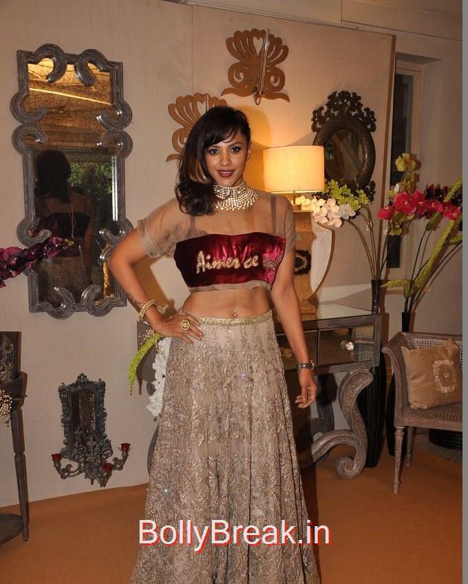Manasi Scott, Anchal, Evelyn, Arpita at Bridal Asia Show Media Preview