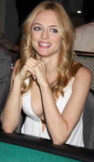 Heather Graham Sexy Pic In White Skirt