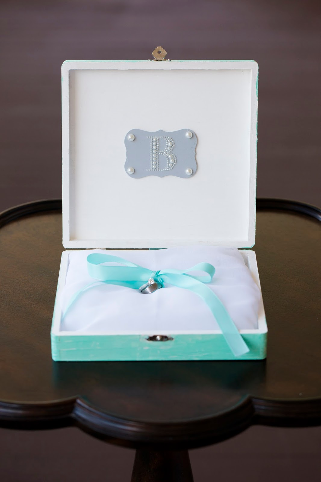 Wedding Wednesday- Ring Bearer's Box