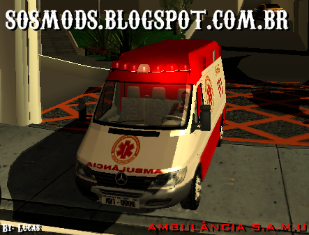 SAN ANDREAS PARA AMBULANCIA PC BAIXAR SAMU DO GTA