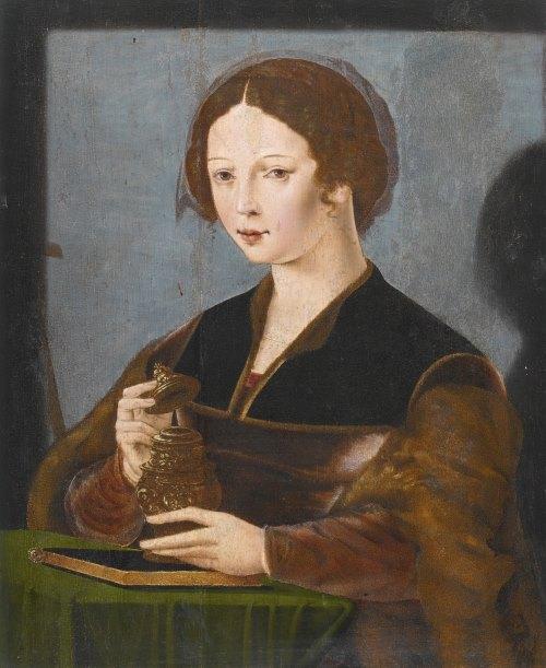 Антверпенская школа (Antwerp School), первая половина XVI века Святая Мария Магдалина