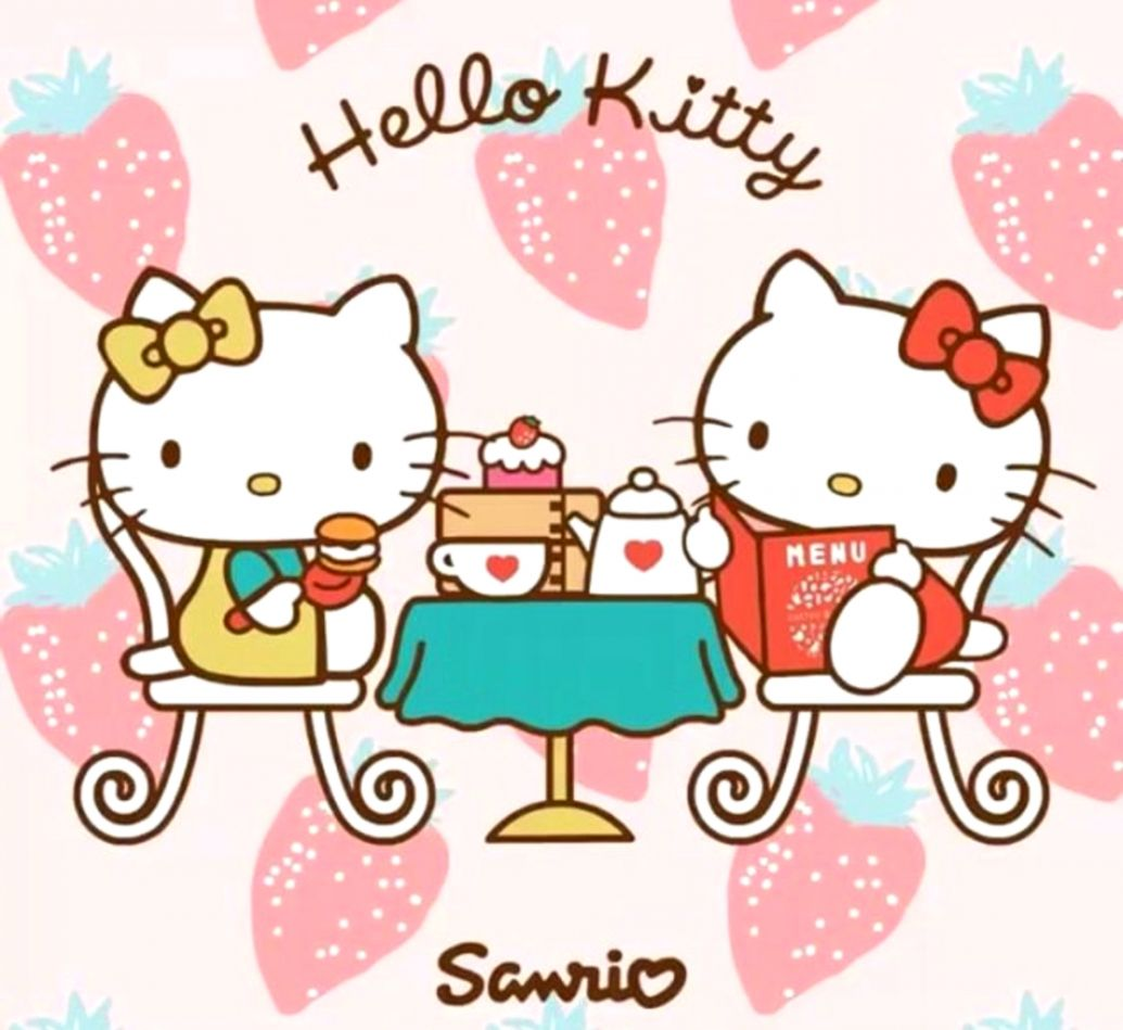 Mimmy White And Kitty White Hello Kitty Wallpapers Wallpapers Clone
