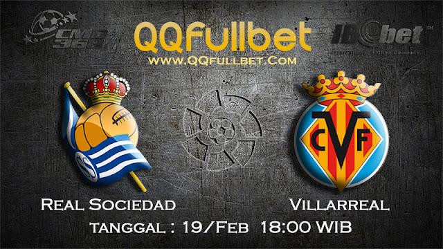 PREDIKSIBOLA - PREDIKSI TARUHAN REAL SOCIEDAD VS VILLARREAL 19 FEBRUARY 2017 (LA LIGA SPANYOL)