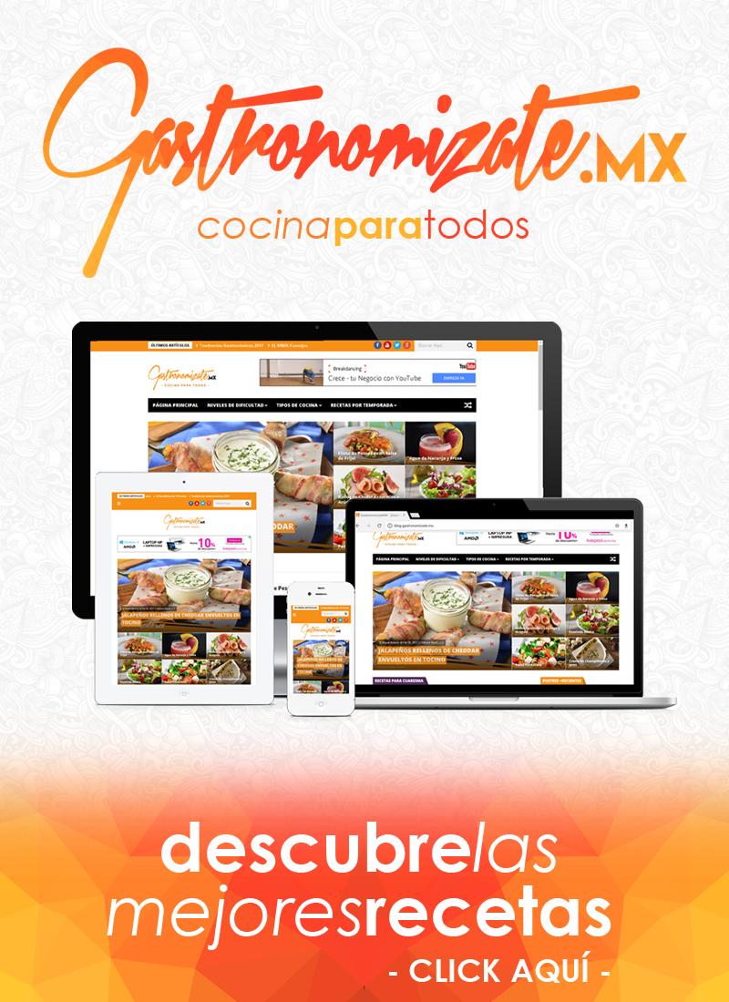 GastronomizateMX - Recetas