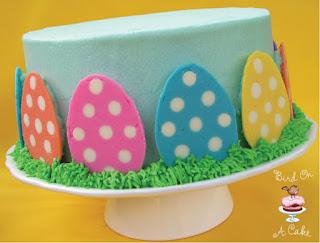 http://birdonacake.blogspot.com/2012/03/polka-dot-easter-egg-cake.html