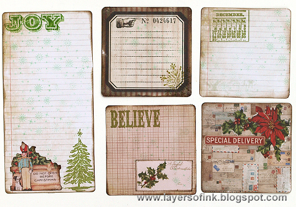Layers of ink - December Daily Journal by Anna-Karin