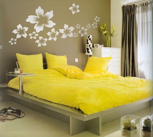 Home Color Idea Modern Yellow Bedroom Ideas 2019
