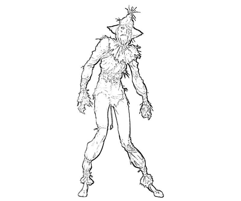 Batman Arkham City Scarecrow Armor | Yumiko Fujiwara