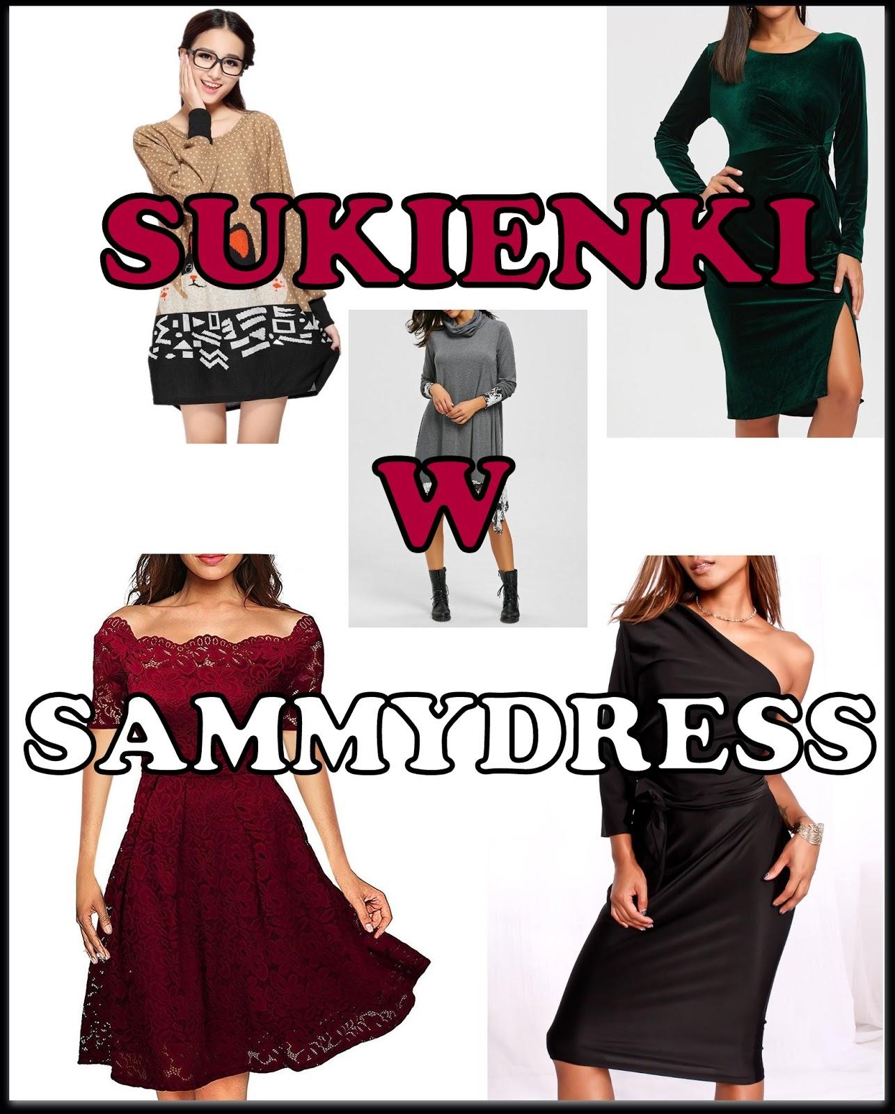 SAMMYDRESS - Przegląd najmodniejszych sukienek!