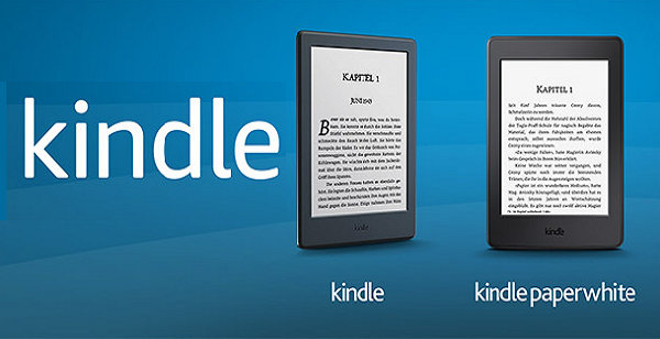 Czytniki Kindle 8 i Kindle Paperwhite 3 na Amazon.de