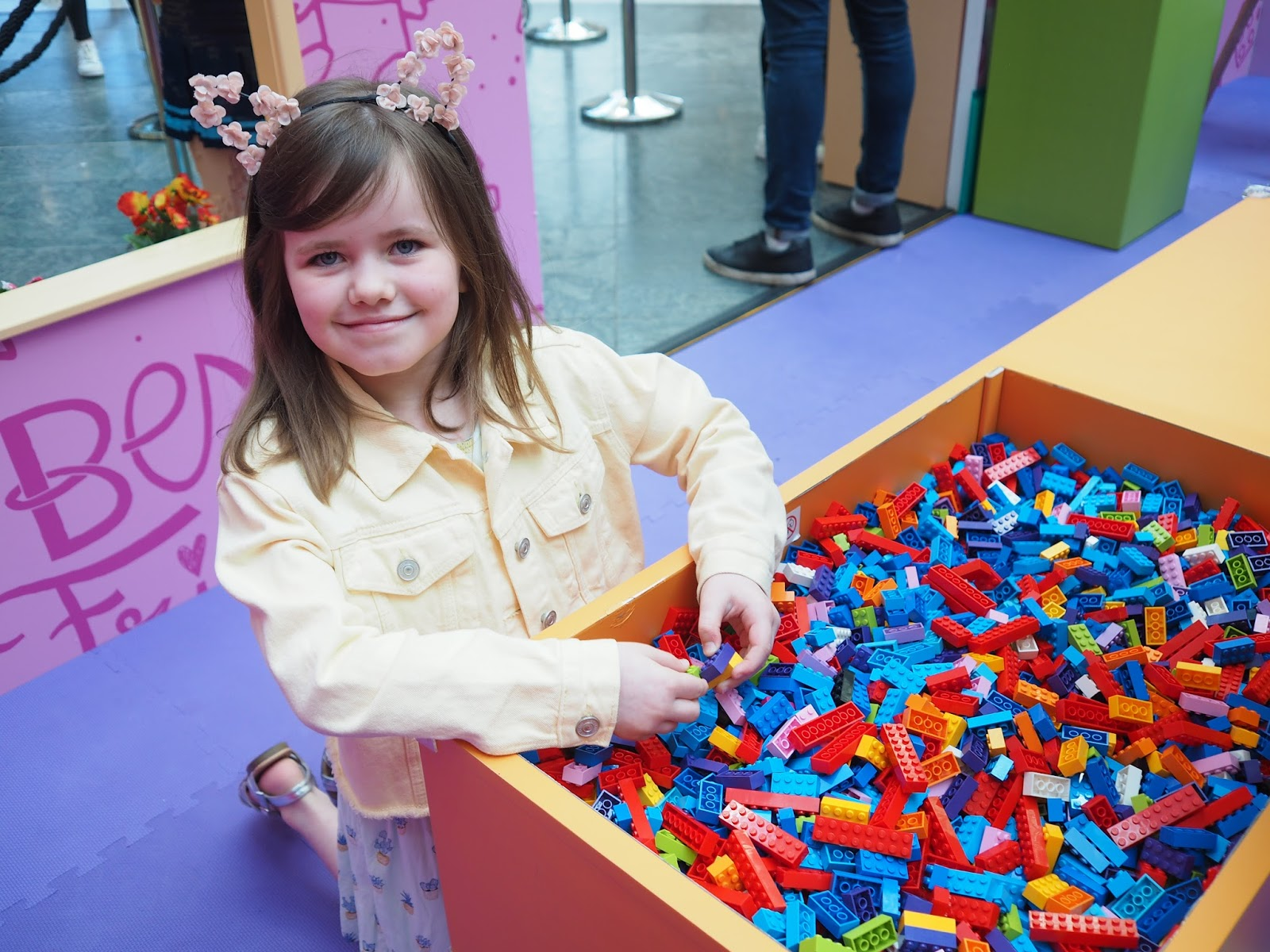 lego friends house of hearts tour manchester arndale ingham family