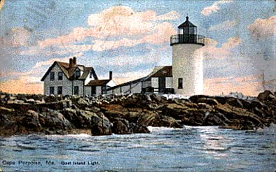 Maine Lighthouses and Beyond: Goat Island Lighthouse  Goat Island Lighthouse