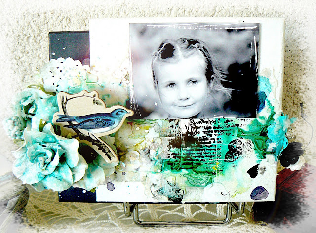 Altered chocolate box by Stephanie Papin
