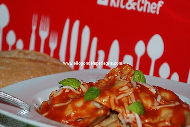 Raviolis rellenos de carne KitandChef