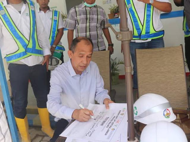 Siap Lapor ke Joko Widodo, Said Assagaff Tinjau Pembangunan RSUPT