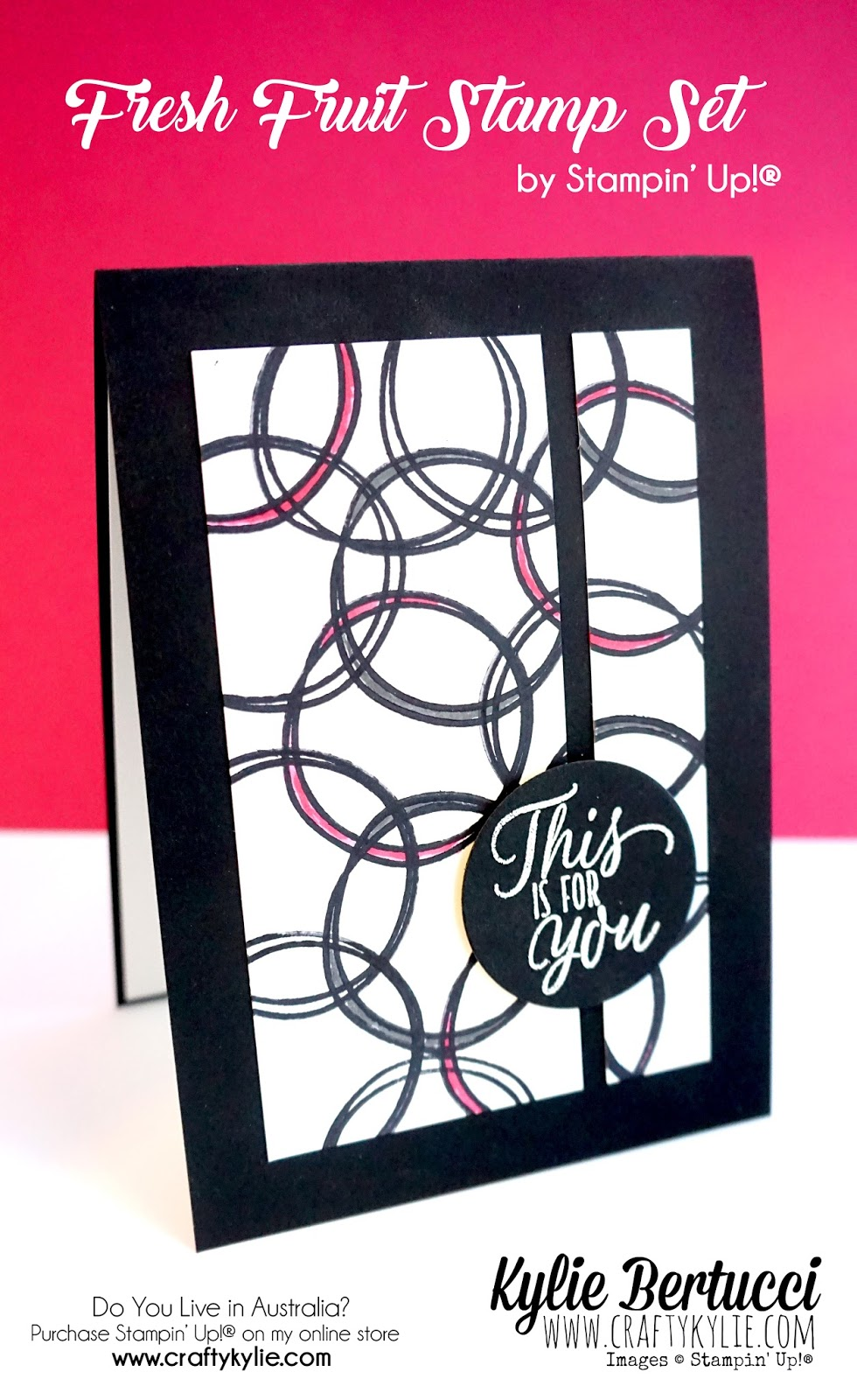 Card Making Ideas Australia Part - 17: I Used To Love Making These Shapes With Circles When I Was Younger And It  Felt Very Nostalgic Doing It Again. I Did Say In The Outset That Bruno And  I ...