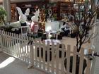 Atelier do coelhinho anima o Shopping na Barra