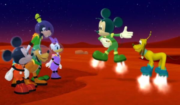 MARTIAN MICKEY: Stop. This is the Sea of Sticky Sand