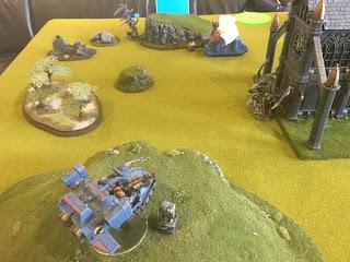40k SW vs GSC Landspeeder objective grab
