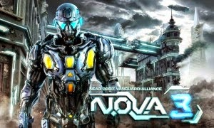 NOVA 3 Freedom Edition MOD APK+DATA (Unlimited Money) logo cover by www.jembercyber.blogspot.com