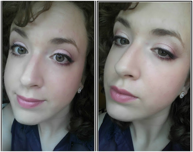 Drugstore Makeup: Soft Pink Eyes & Lips