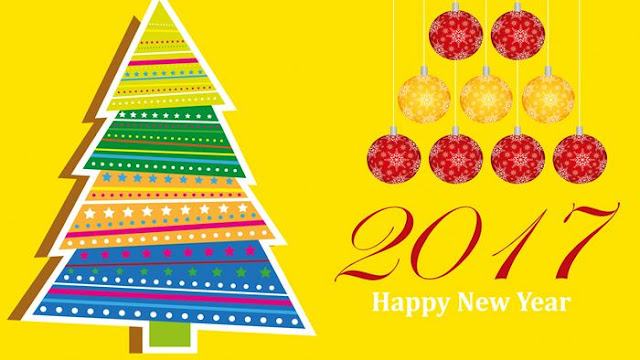 Happy New Year 2017 HD Wallpaper 19