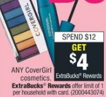 CoverGirl deals at cvs