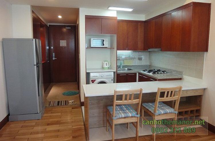 Cho thuê một số căn hộ tại The Manor 2 - phòng bếp