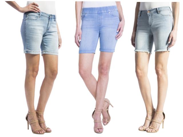 Liverpool Jean Shorts