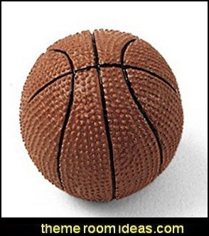Basketball Knobs basketball decor basketball bedroom ideas - Basketball Decor - basketball wall murals - basketball bedding - basketball wall decal stickers - basketball themed bedrooms - basketball bedroom furniture - basketball wall decorations - Basketball wall art - Basketball themed rooms - basketball bedroom furniture - NBA bedding - Boys basketball theme  -  Basketball  rugs - basketball throw pillows