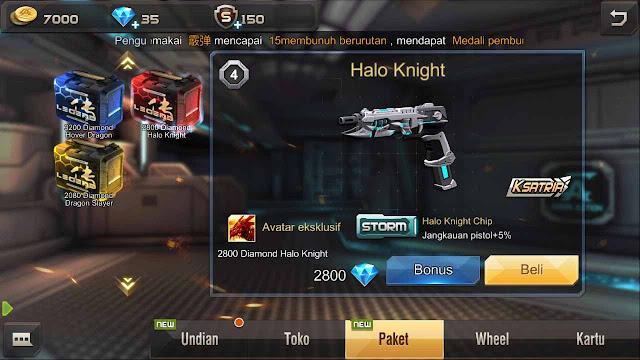 Cara Mendapatkan Senjata Halo Knight