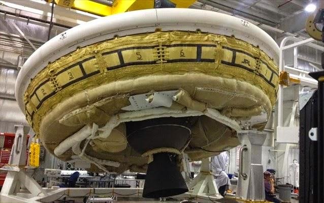 Η NASA κατασκευάζει τον δικό της ιπτάμενο δίσκο