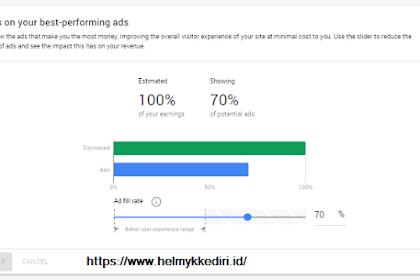 Mengenal fitur ad balance adsense dan cara menggunakannya