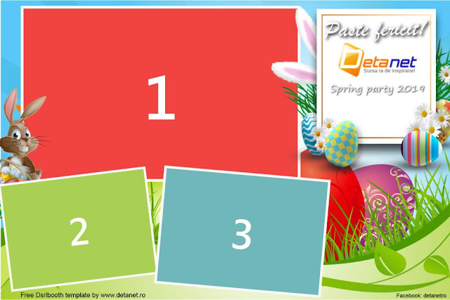 Free Dslrbooth templates for Easter