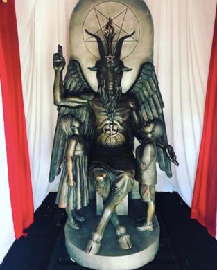 baphomet, satanic temple, satanismo, satan, satã