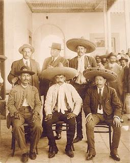 Revolucionarios mexicanos, Pancho Villa, Emiliano Zapata