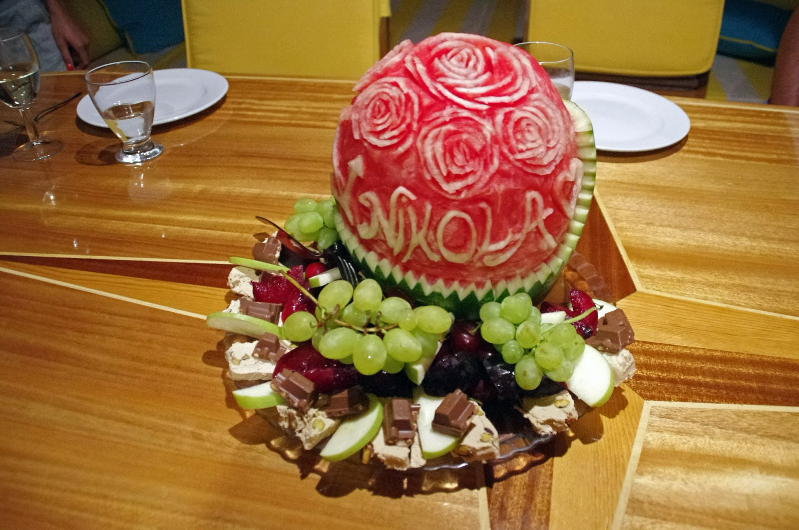 Fruit Platter Turkey Sailing