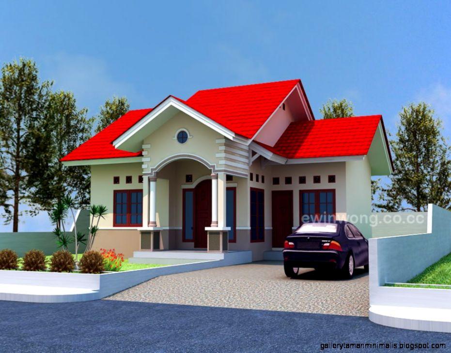 Kumpulan Model Rumah Sederhana  Gallery Taman Minimalis