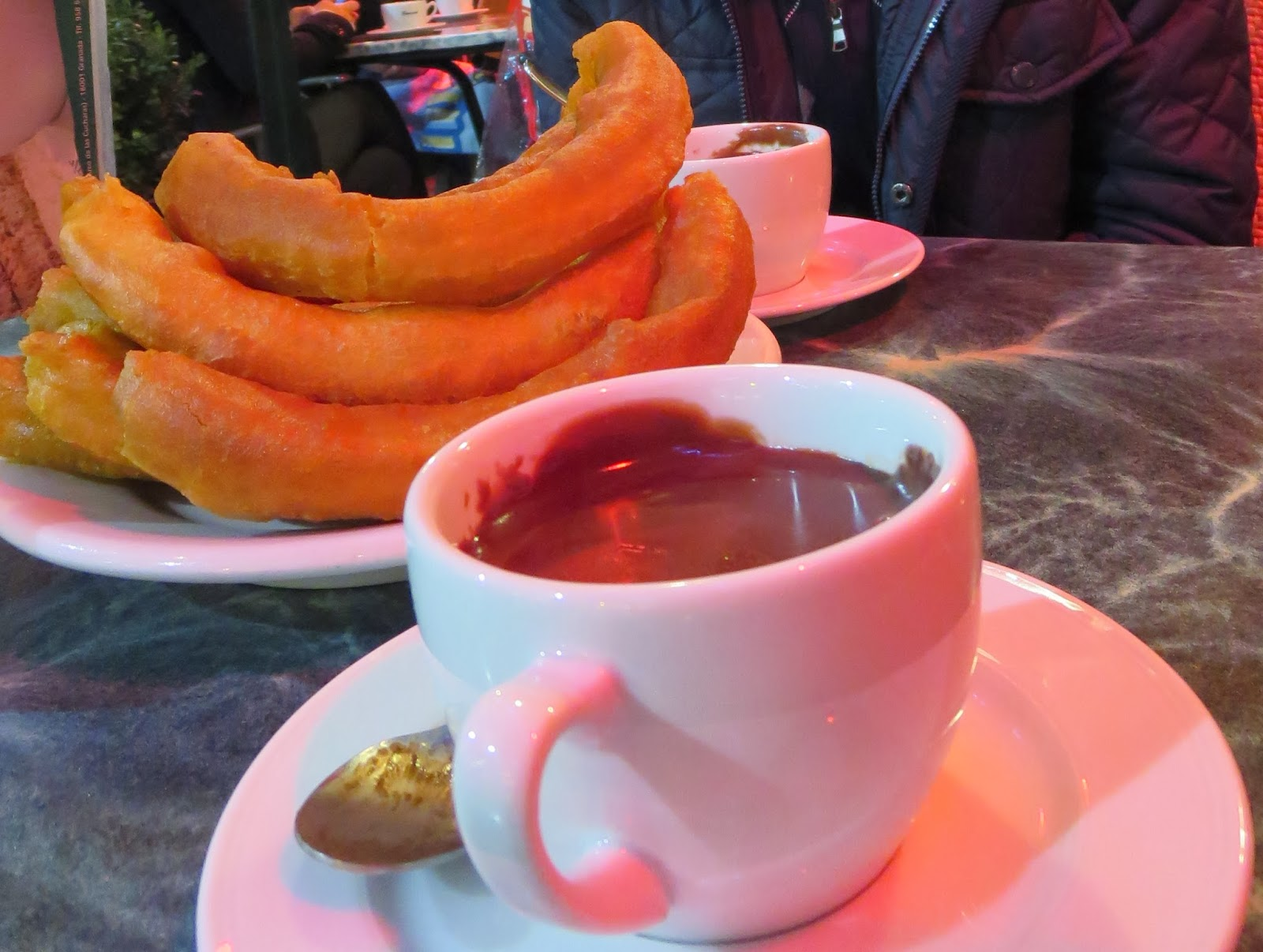 Christmas in Granada - Chocolate and Churros