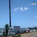 Caminhão quebrado na Tomaz Landim causa lentidão nos acessos para a ZN pela ponte Igapó..