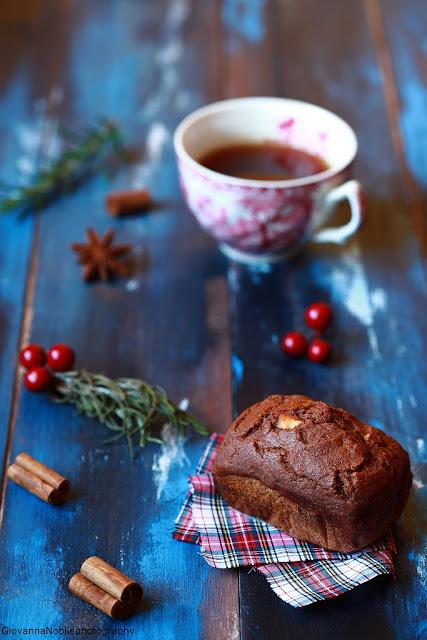 mini- cake - alle- clementine - mandorle - e - cacao
